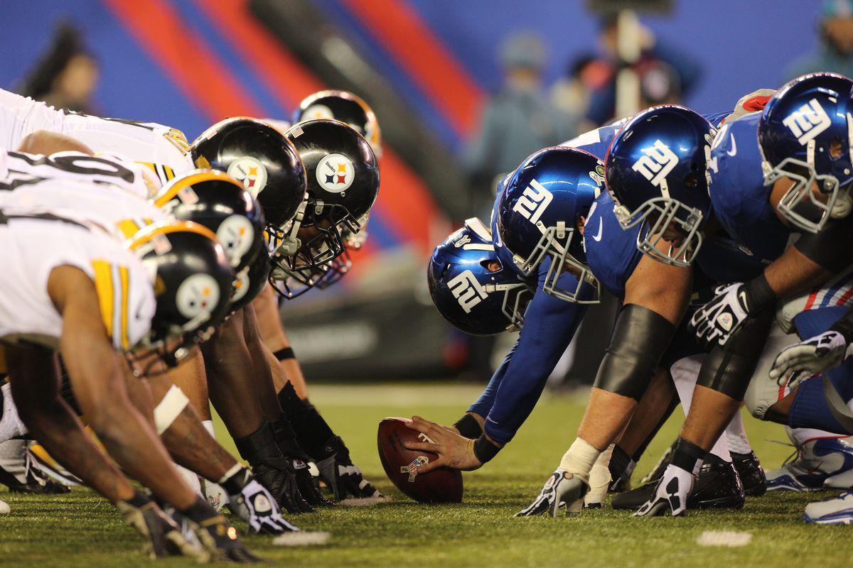 Football - NFL - New York Giants v Pittsburgh Steelers