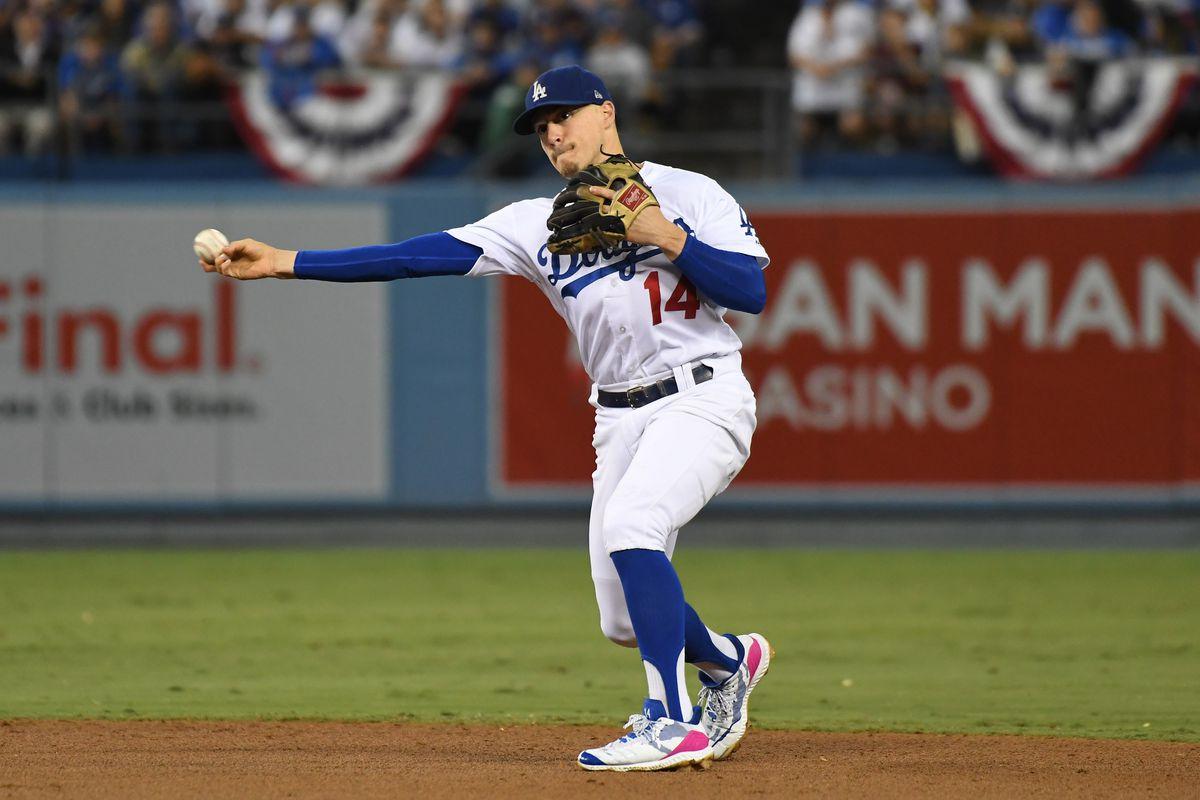 MLB: NLDS-Atlanta Braves at Los Angeles Dodgers