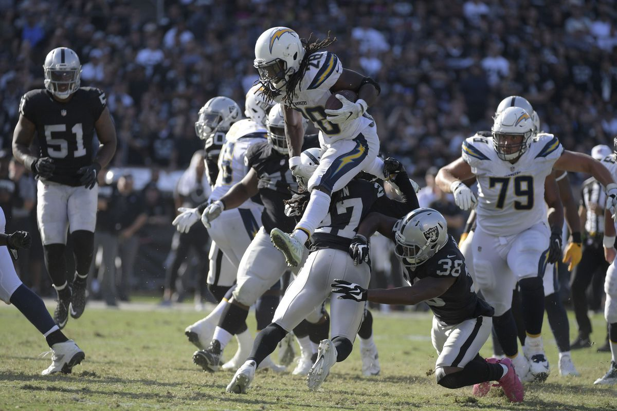 5396d53d Chargers vs. Raiders: Winners and Losers - Bolts From The Blue