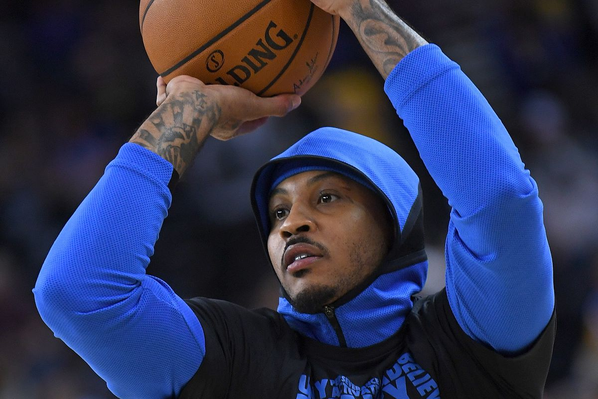 Photo by Thearon W. Henderson Getty Images. Carmelo Anthony s storied  career with the Atlanta Hawks came ... 2f07ebee1