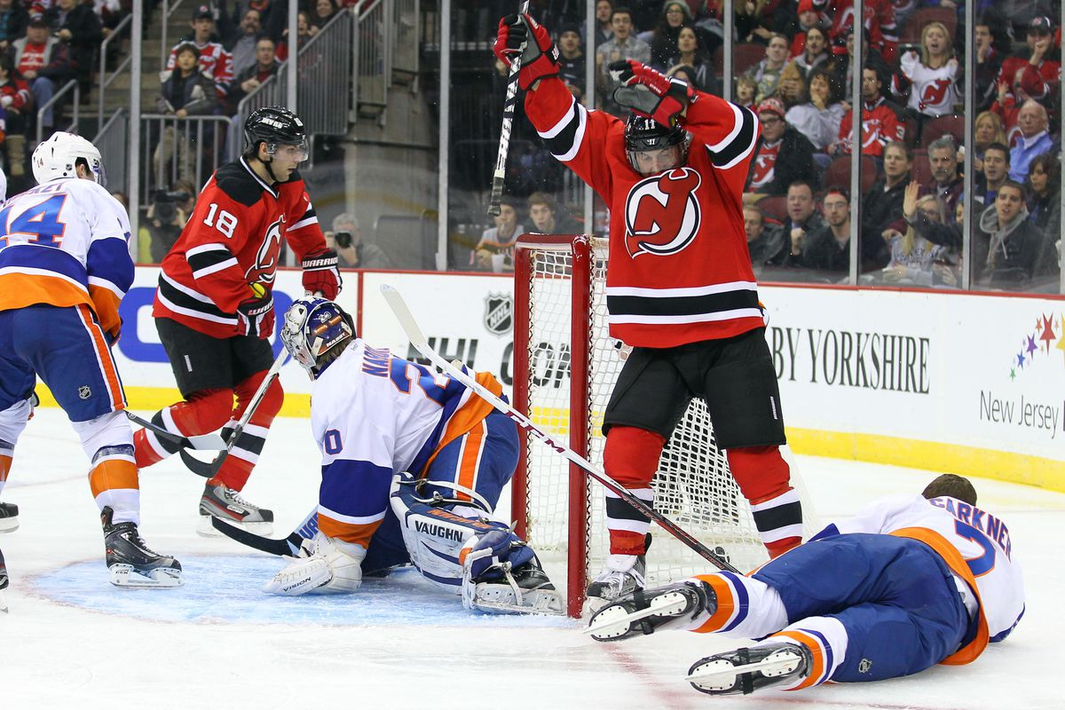 The Devils need to do more of this on Sunday if they want to get back into the win column