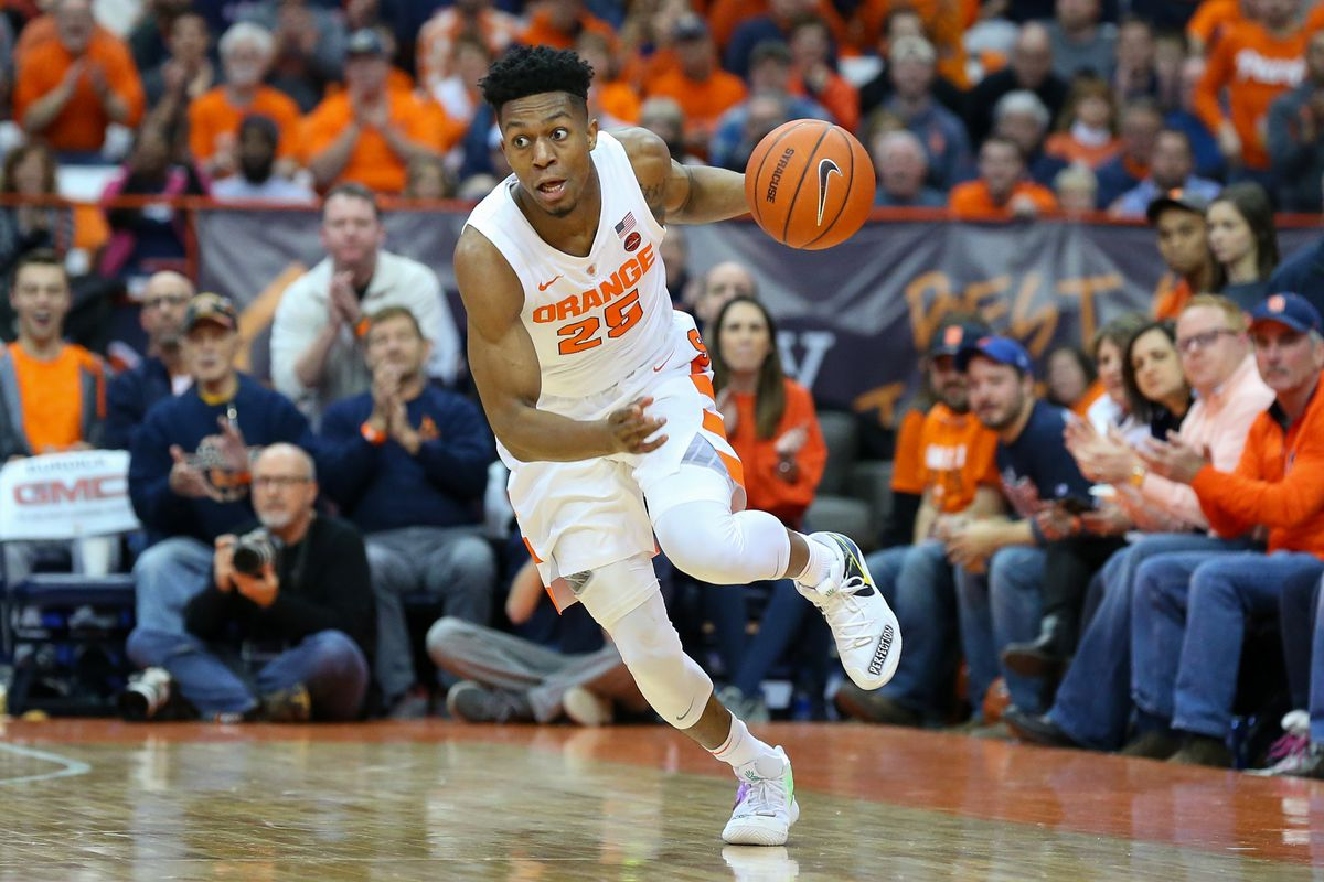 Where Will Tyus Battle Rank In Syracuse Orange History Troy Nunes