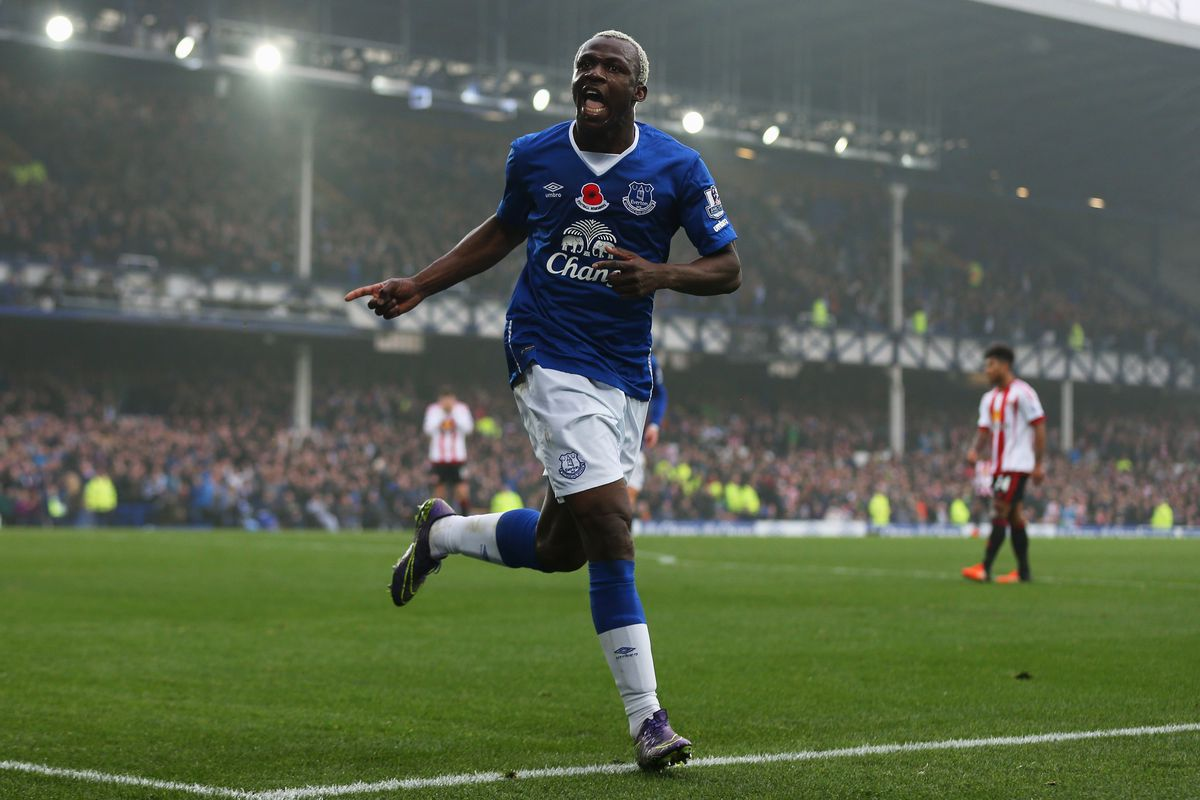 Arouna Kone played a crucial role in Everton's success both on the right wing and in the center of the pitch.