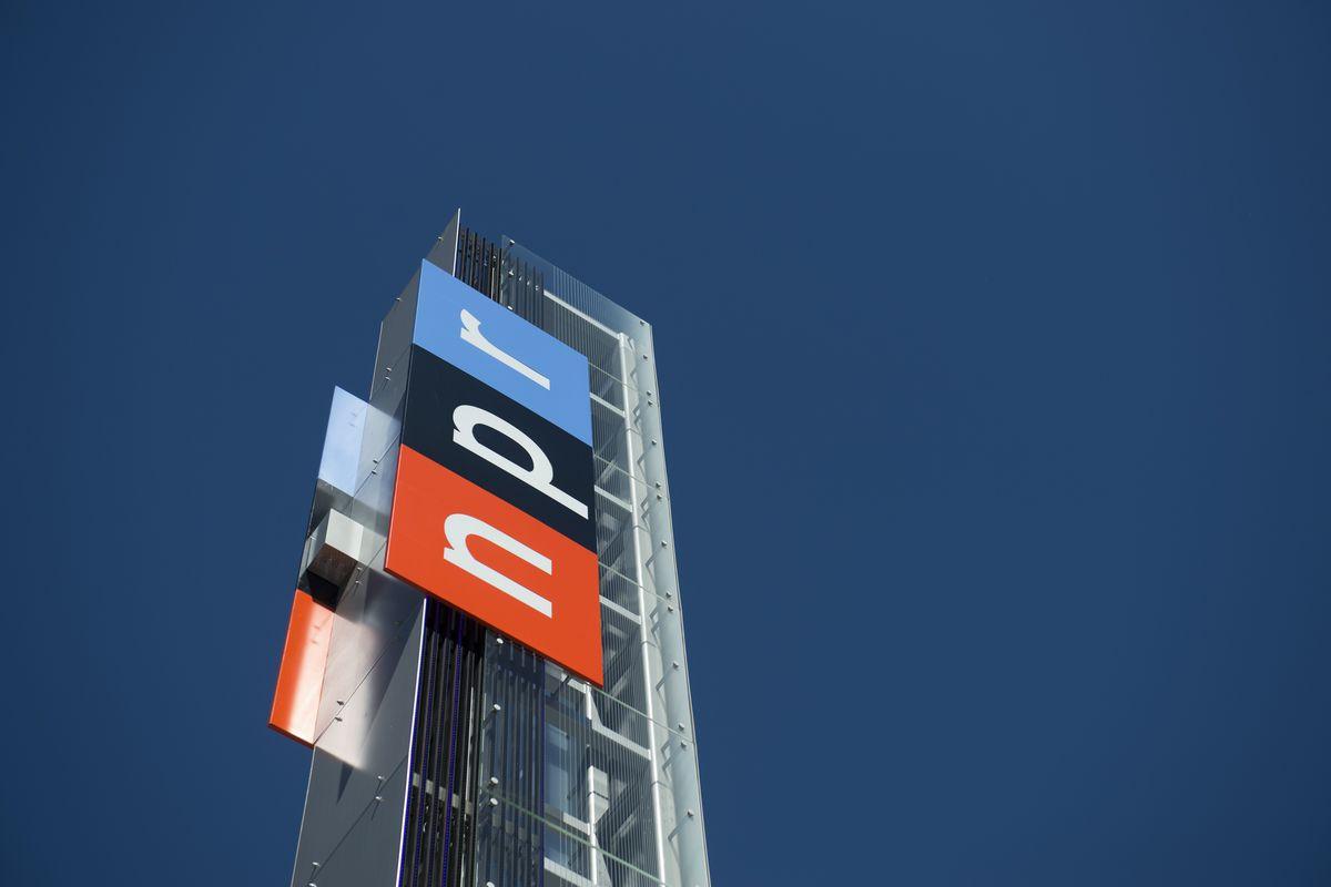 The NPR headquarters in Washington, DC