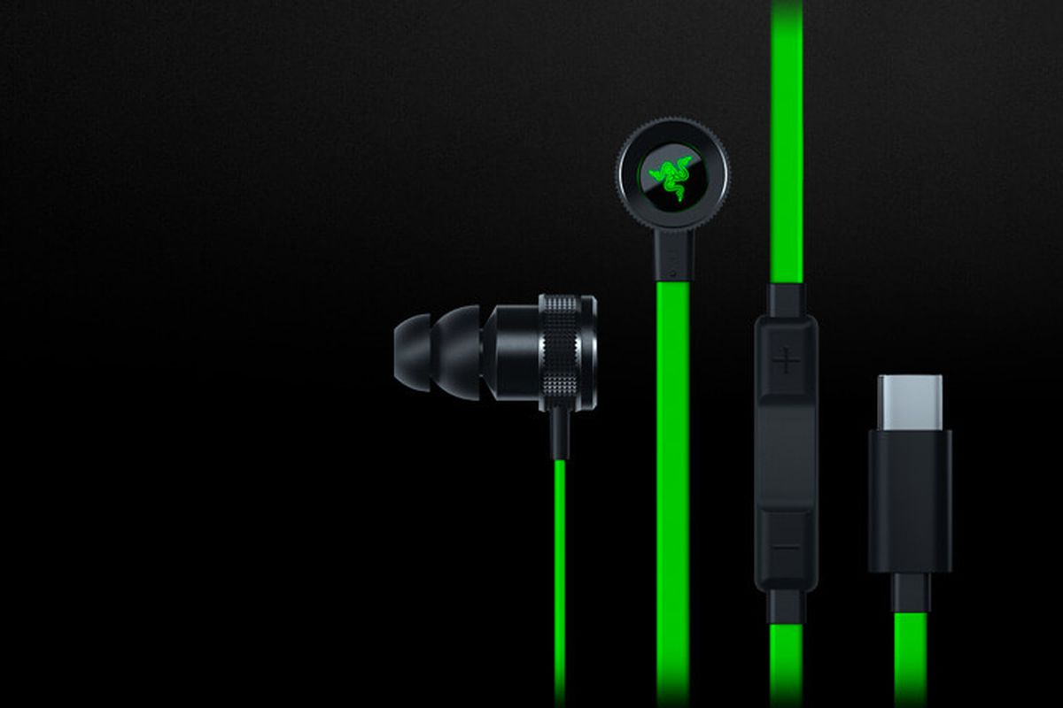 Razer launches neon green Hammerhead USB-C earbuds