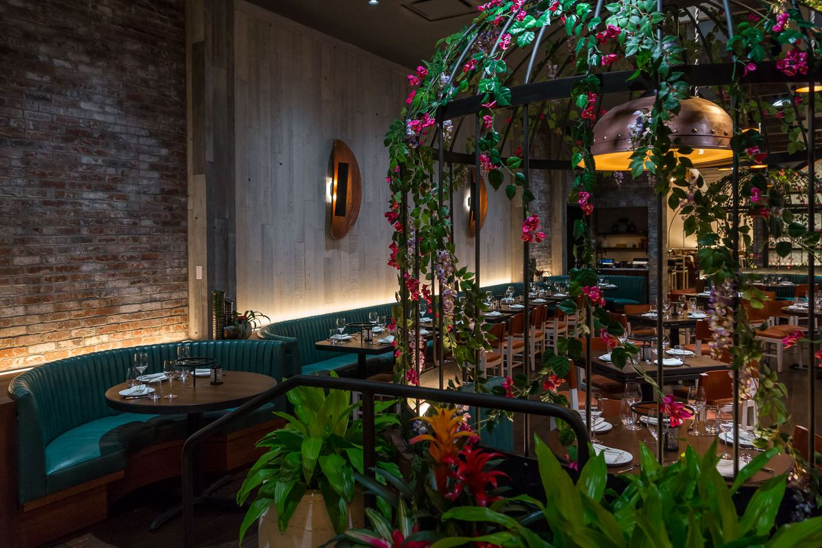 The dining room at Catch