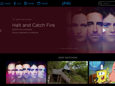 photo image Philo streams pay TV — without sports or broadcast channels — for $16 a month