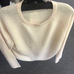 Inhabit cashmere sweater, $80