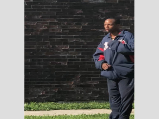 A cellphone photo of the man who exposed himself to a woman last month at a Bronzeville bus stop.   Chicago Police
