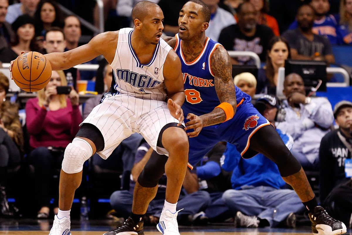 """Arron Afflalo and J.R. Smith ... the """"could have beens"""" for the Nuggets."""