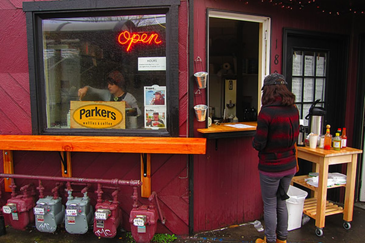 Parkers Waffles and Coffee, Portland, Oregon