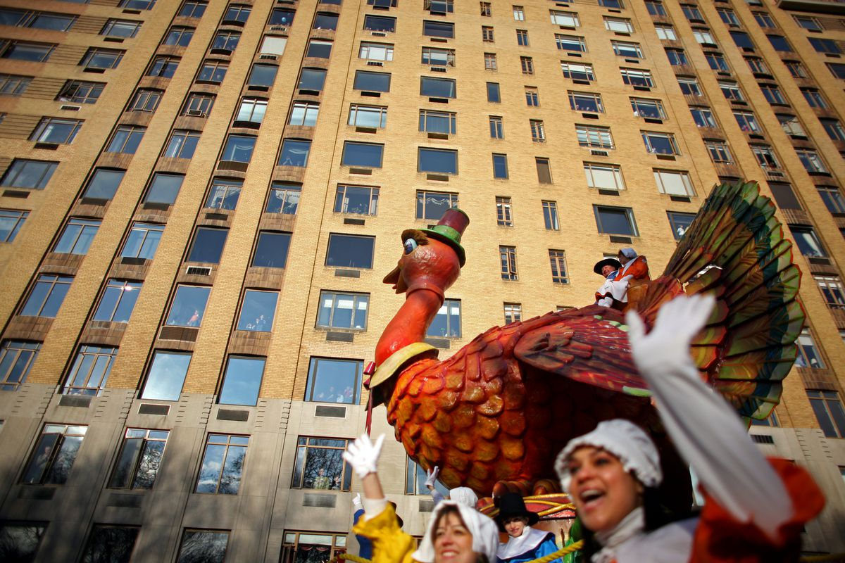 Macy's Hosts Annual Thanksgiving Day Parade