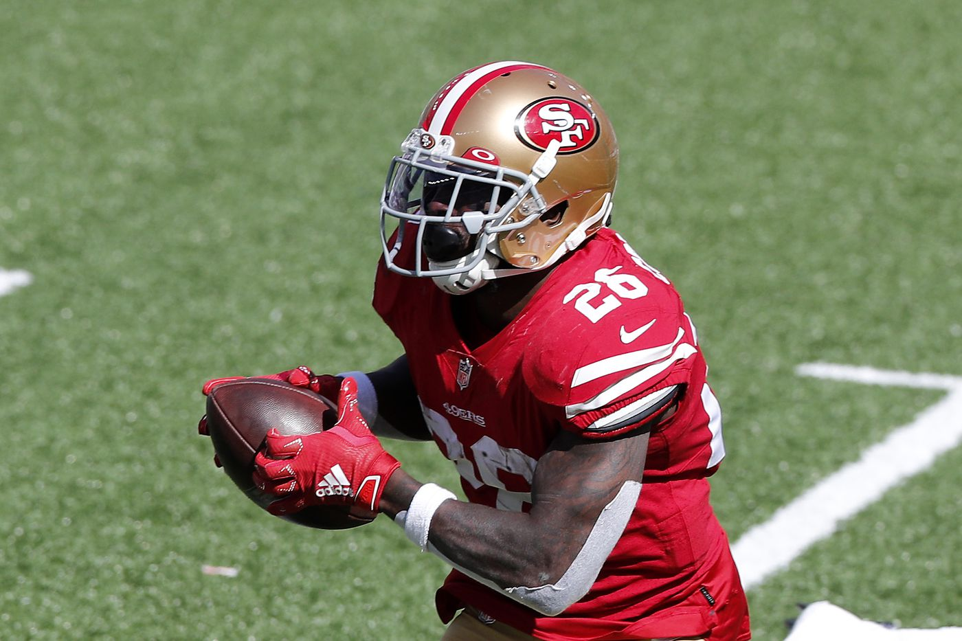Former 49ers RB Tevin Coleman signs with the Jets on a one-year deal worth  up to $2 million - Niners Nation
