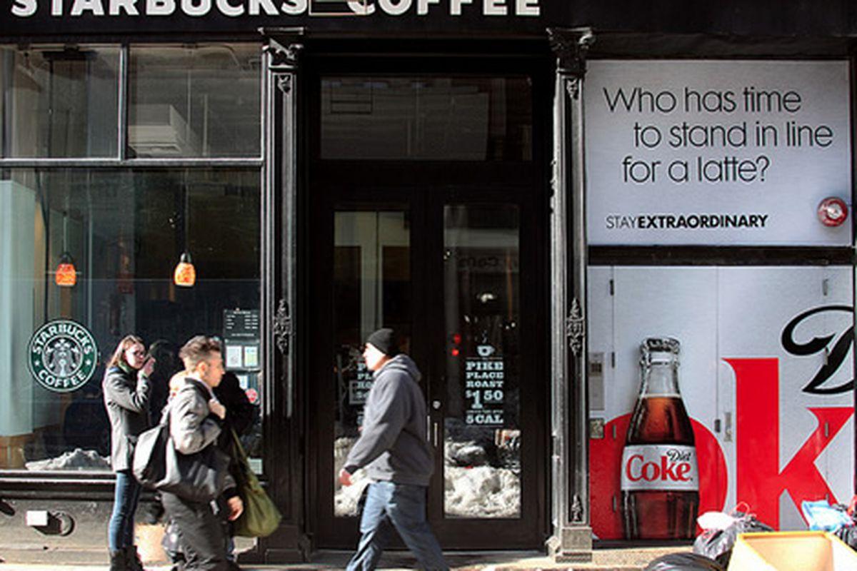 Starbucks, NYC