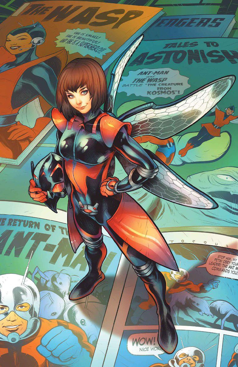 The legacy of Janet van Dyne aka The Wasp, explained - Polygon