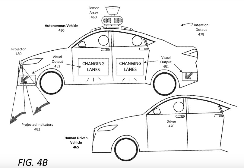 Self-driving cars will use flashing lights and weird noises