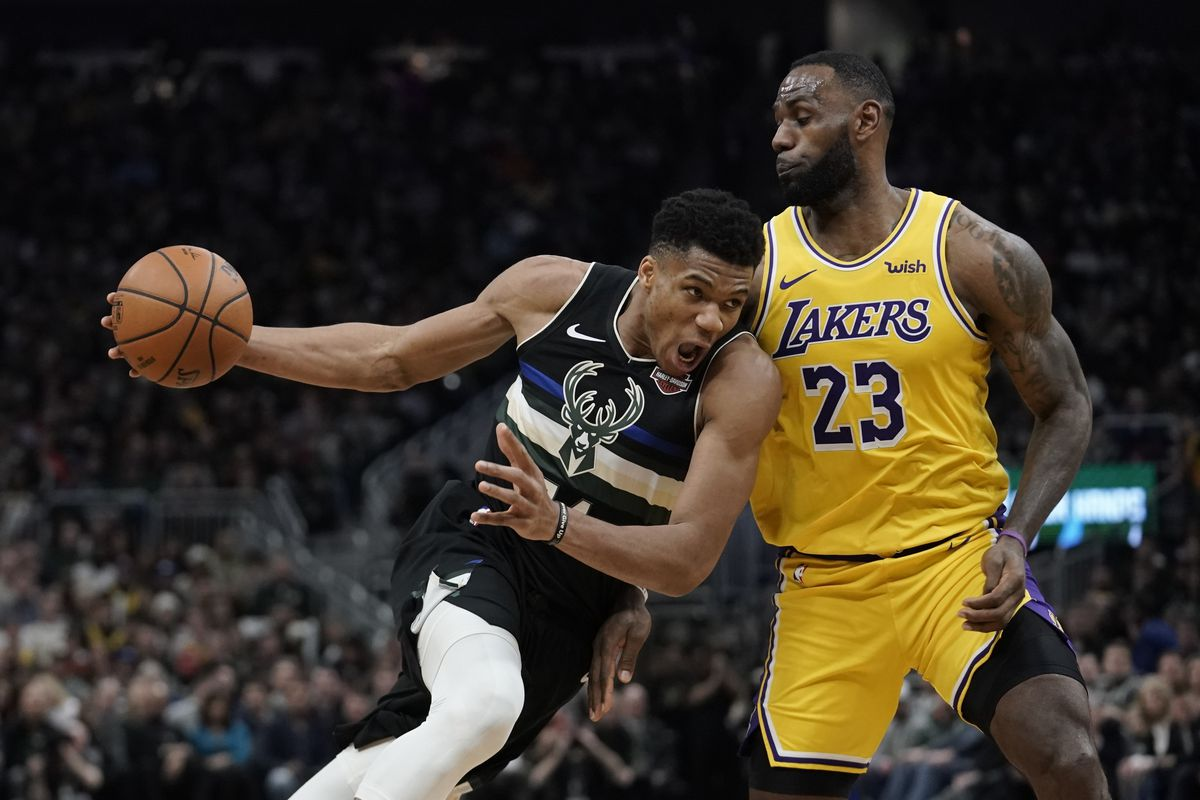 All-Star Game captains Giannis Antetokounmpo and LeBron James chose their starting lineups.