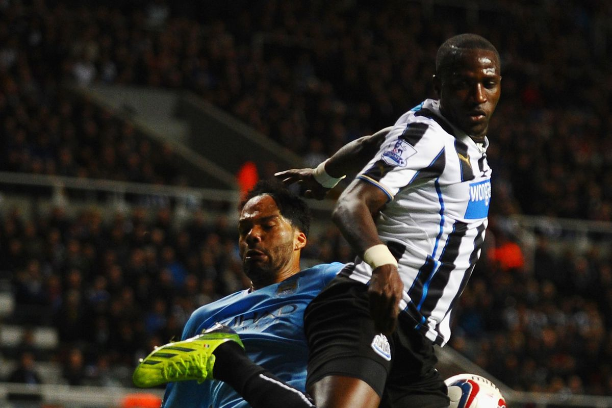 Shola came close, but couldn't get a goal for Newcastle