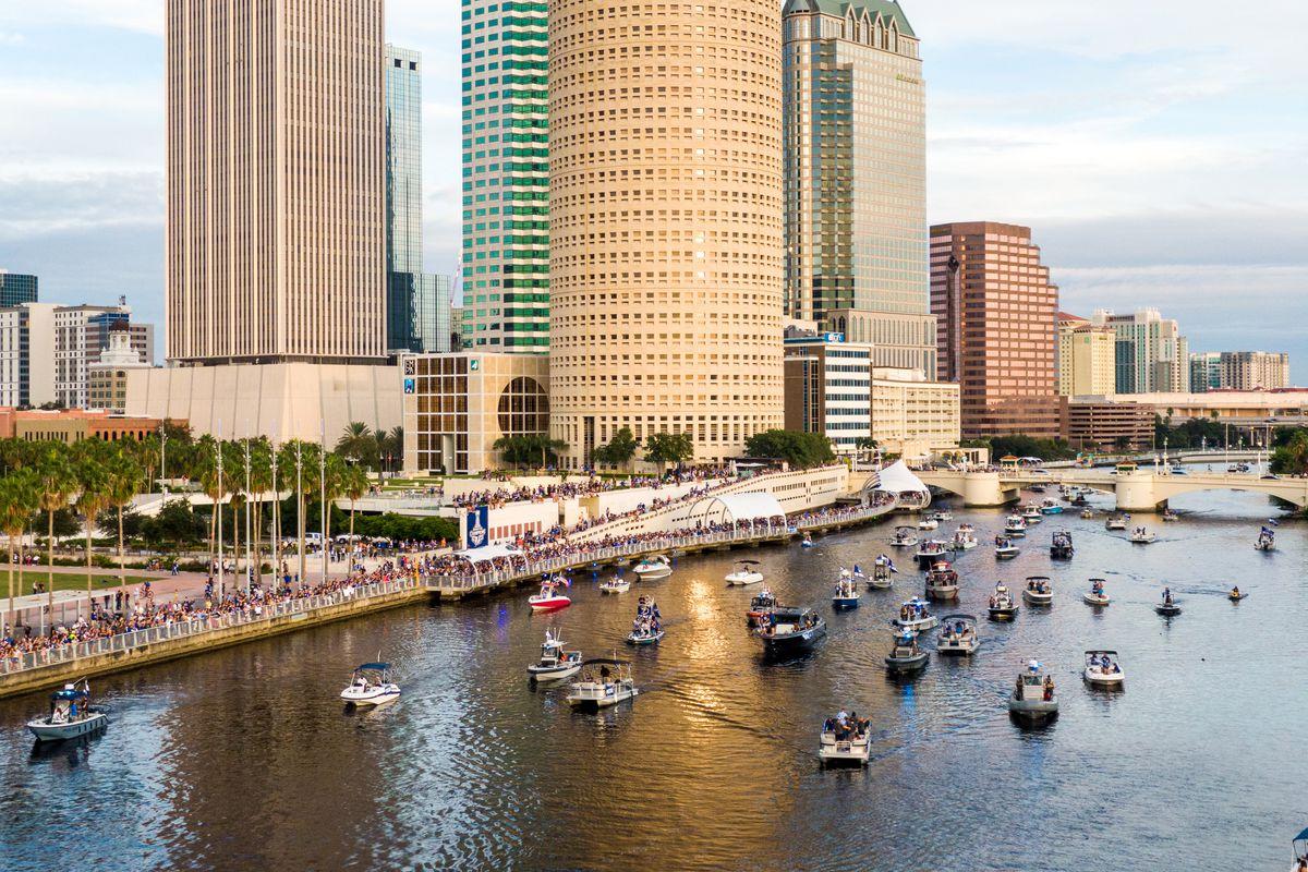 Tampa Bay Lightning Victory Rally & Boat Parade