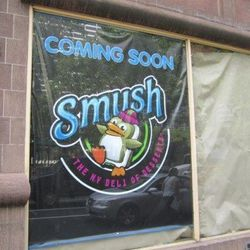 """Smush, near Bryant Park. [<a href=""""http://midtownlunch.com/2012/08/23/smush-the-ny-deli-of-desserts-coming-soon-to-bryant-park-area/"""">ML</a>]"""