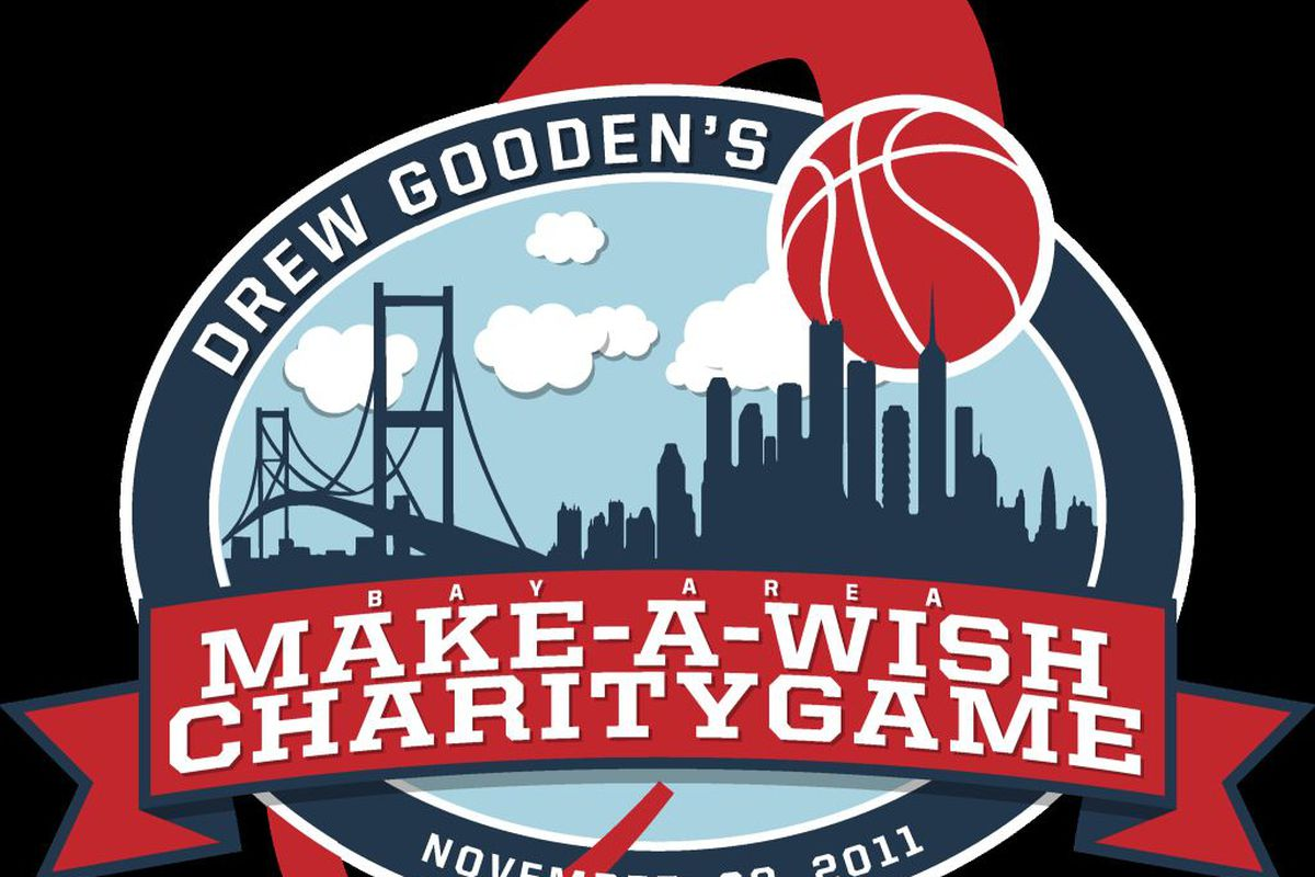 """Drew Gooden's Bay Area Make-A-Wish Charity Game is November 20 at the University of San Francisco. <a href=""""https://twitter.com/#!/drewgooden1/media/slideshow?url=pic.twitter.com%2FJ1L5fpxB"""" target=""""new""""></a>"""