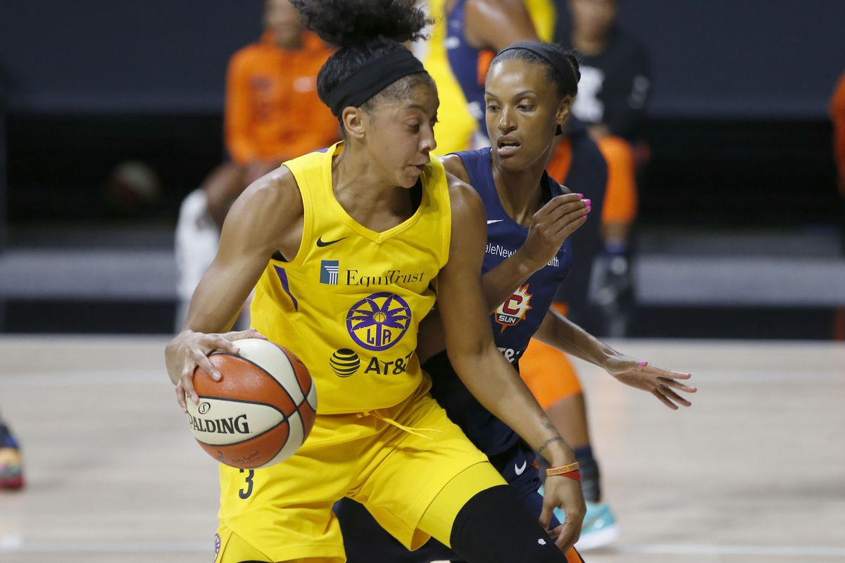 WNBA: Connecticut Sun at Los Angeles Sparks