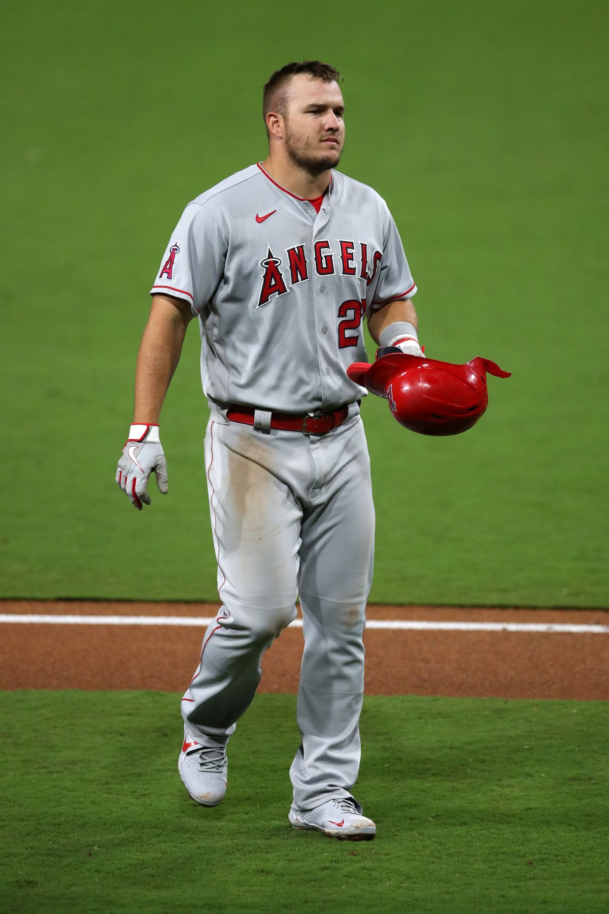 Mike Trout of the Angels.