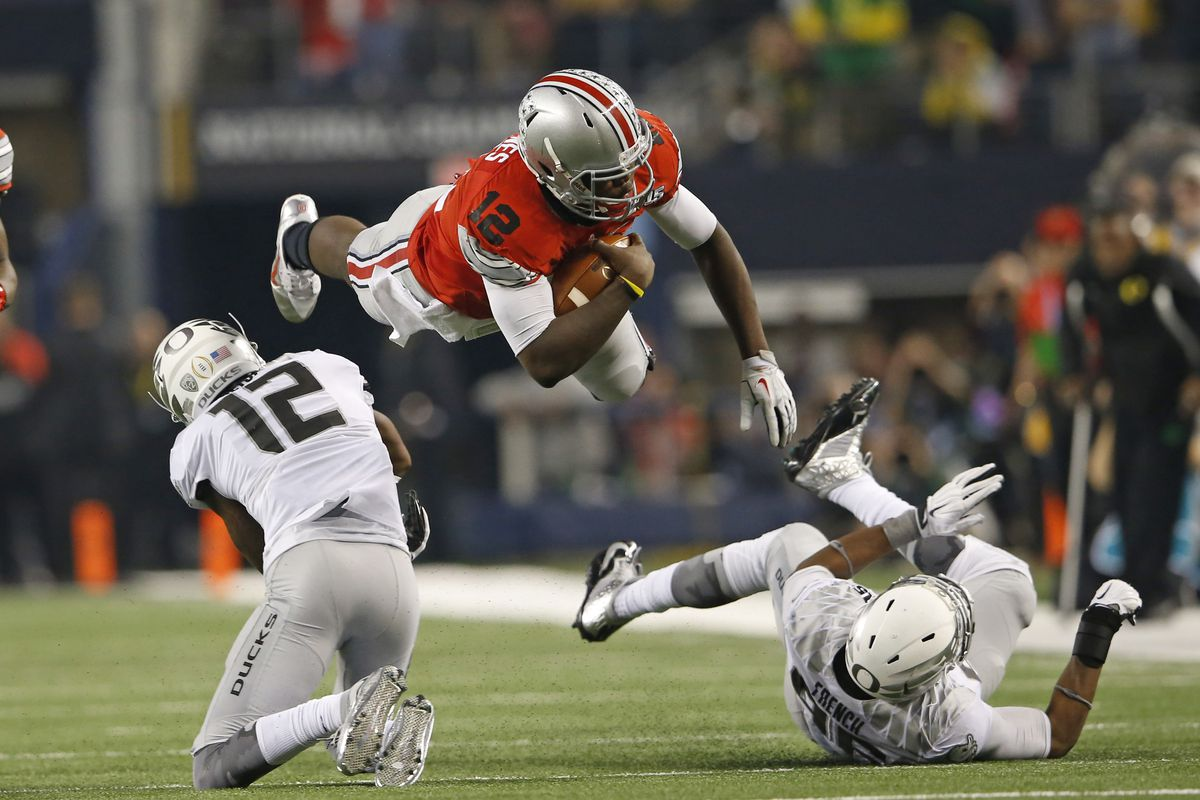 Cardale Jones and the Ohio State Buckeyes are still number 1. You knew that.