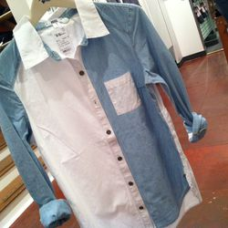 Shirting, new for spring.