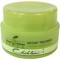 """The cure-all for heat styling damage, Beans Beauty's <a href=""""http://www.beansbeauty.com/products/esuchen-olive-hair-instant-treatment"""">Esuchen Olive Hair Instant Treatment</a> ($34.95) mends split ends and dryness caused by your trusty flat iron."""