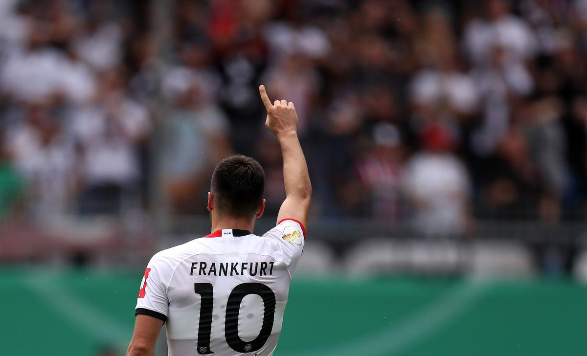 SV Waldhof Mannheim v Eintracht Frankfurt - DFB Cup
