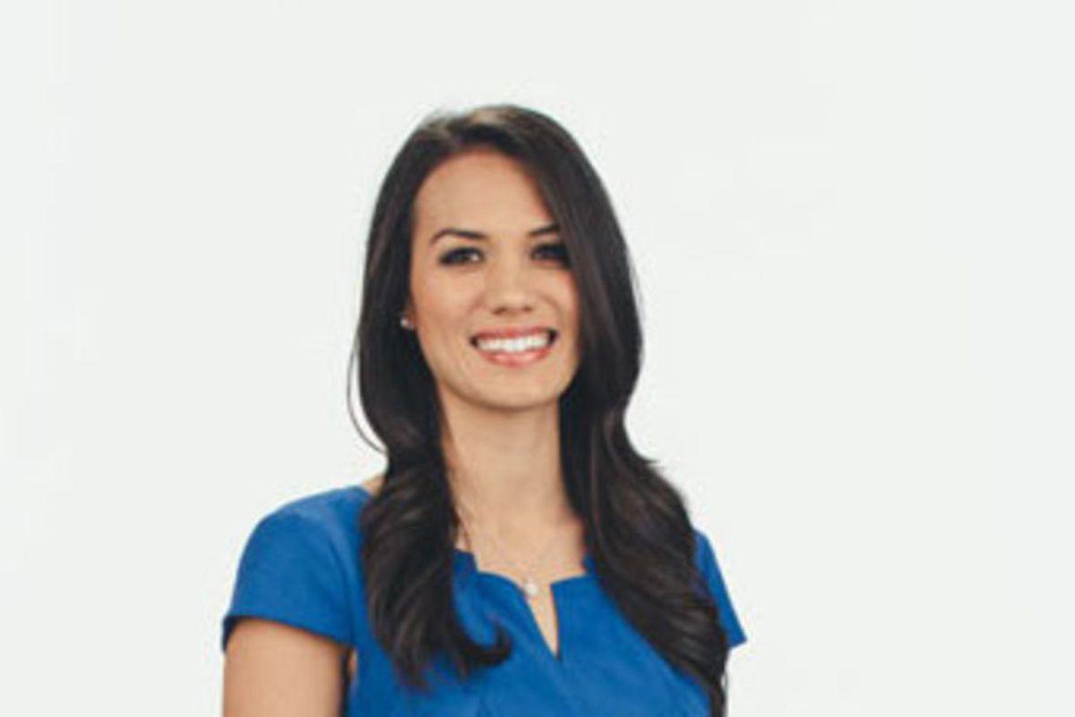 Ashley Moser, KSL-TV's newest anchor. 2015.