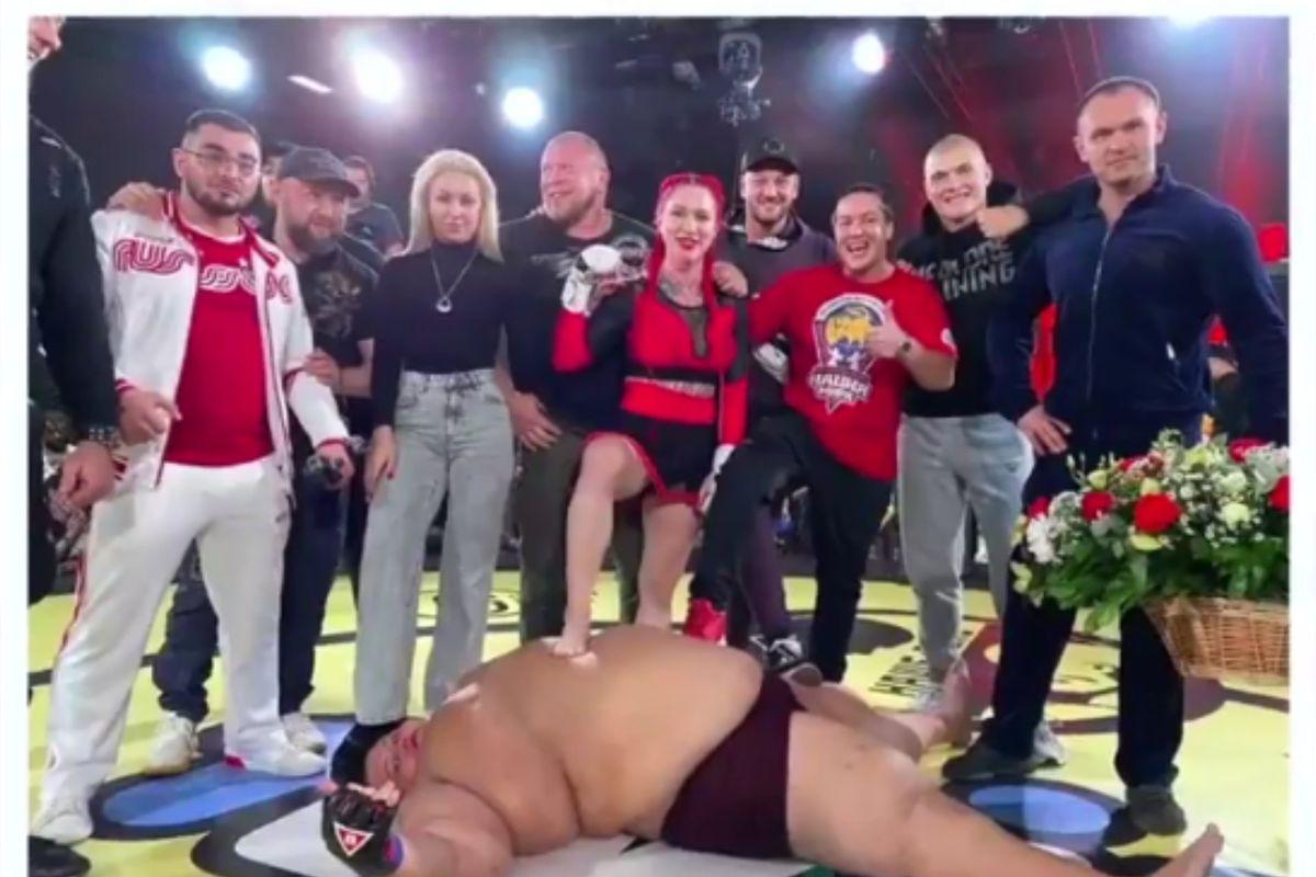 Man vs. woman MMA fight