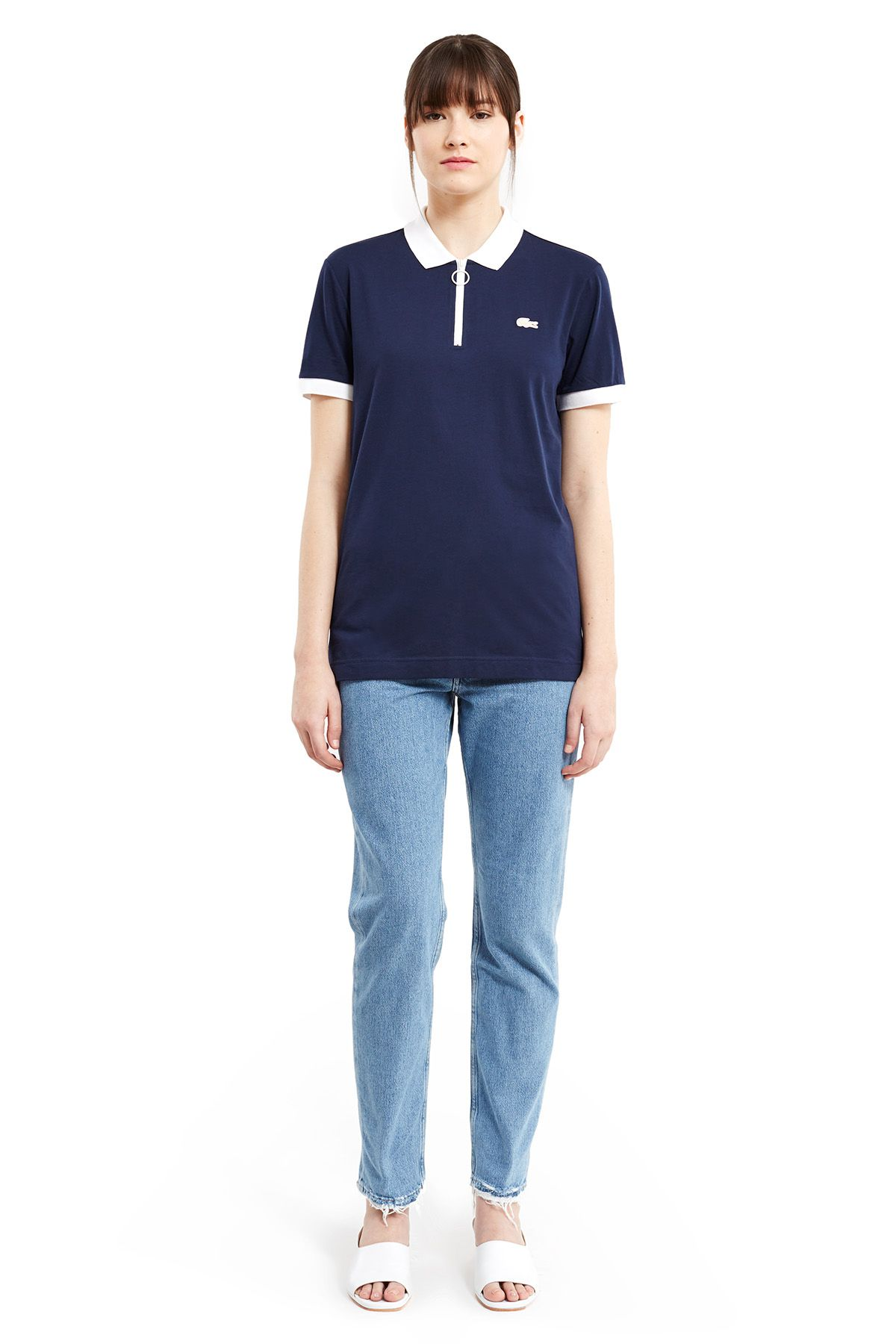 Lacoste x Opening Ceremony navy polo