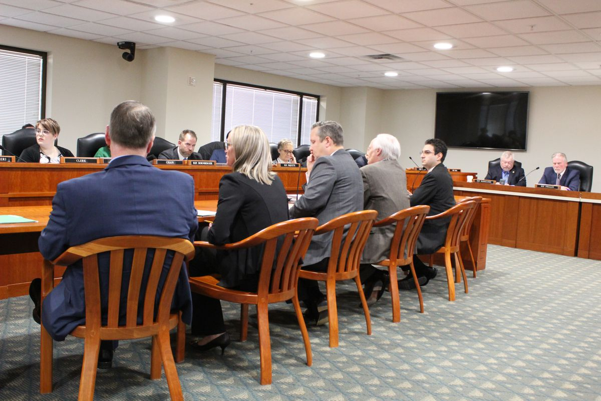 Advocates traveled to Lansing in March for a hearing on teacher evaluations.
