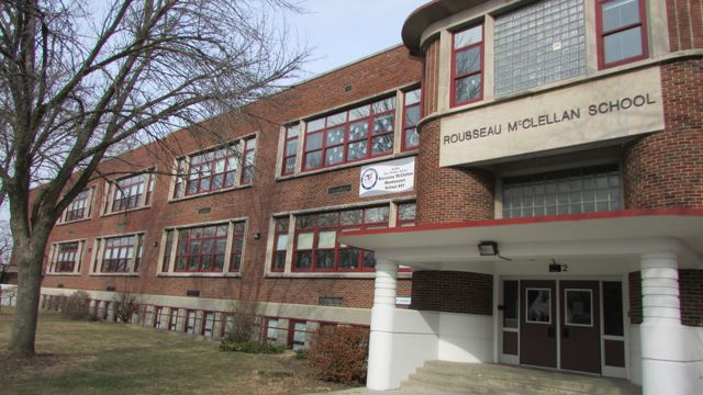 School 91 is a Montessori school on the North side.