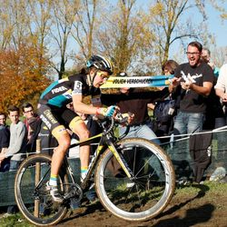 Eventual winner Jolien Verscheuren