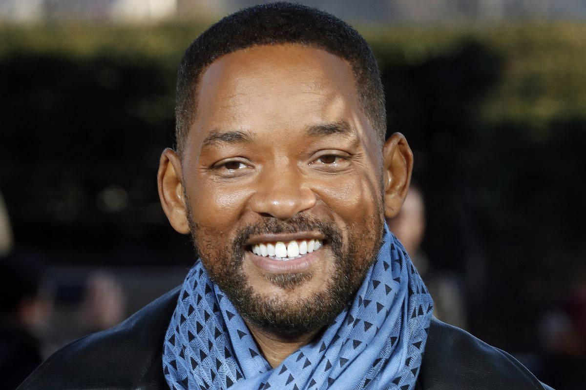 """Will Smith poses for photographers during the photo call of """"Bad Boys for Life"""" in Paris in 2020."""
