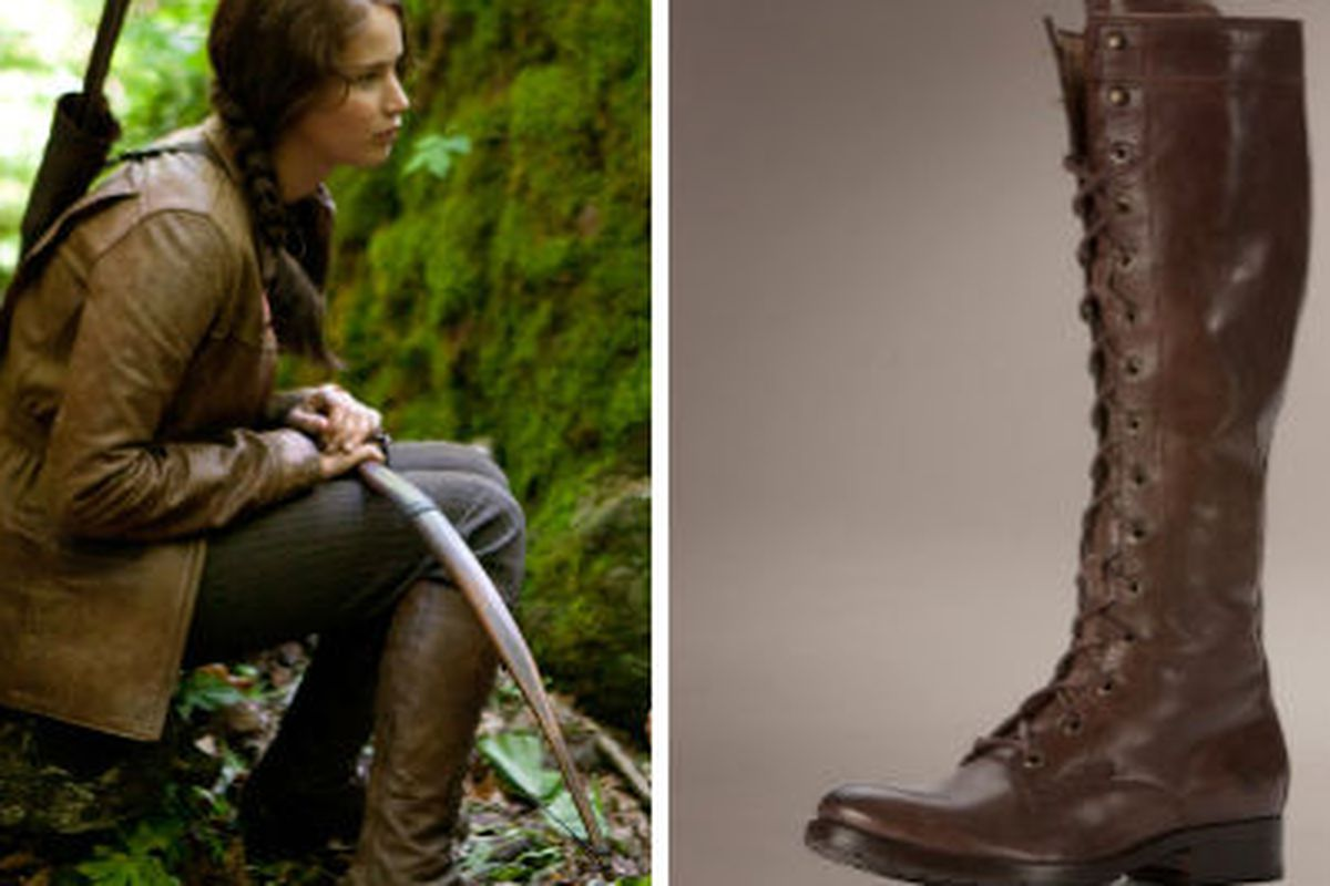 The bad-ass boots to end all bad-ass boots. Images via Lion's Gate and Frye