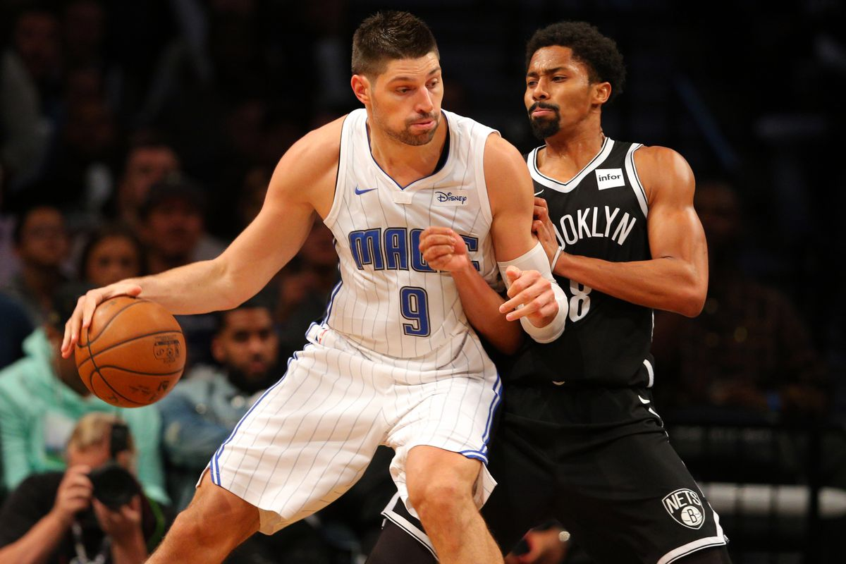 NBA: Orlando Magic at Brooklyn Nets