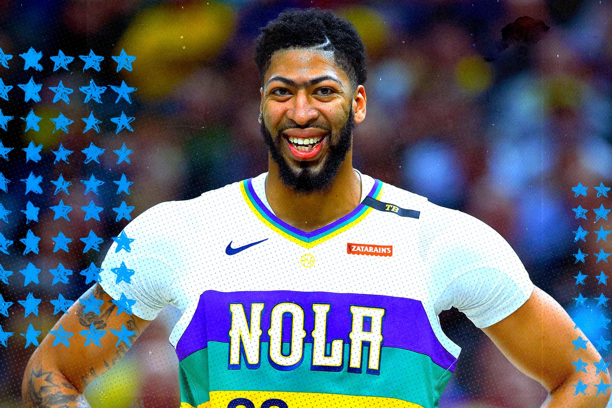 timeless design ea390 4c83d Anthony Davis to the Lakers is a heck of a start for L.A. ...