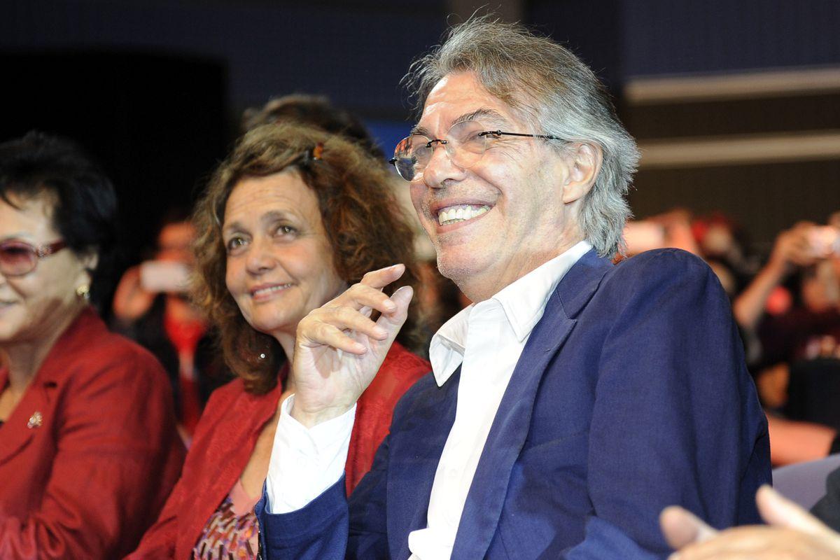 Massimo and Milly Moratti