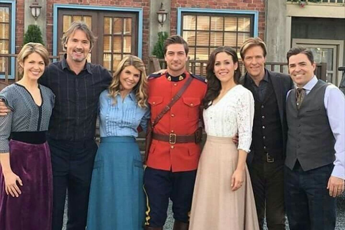 """The cast of the Hallmark Channel's """"When Calls the Heart"""" gathers."""