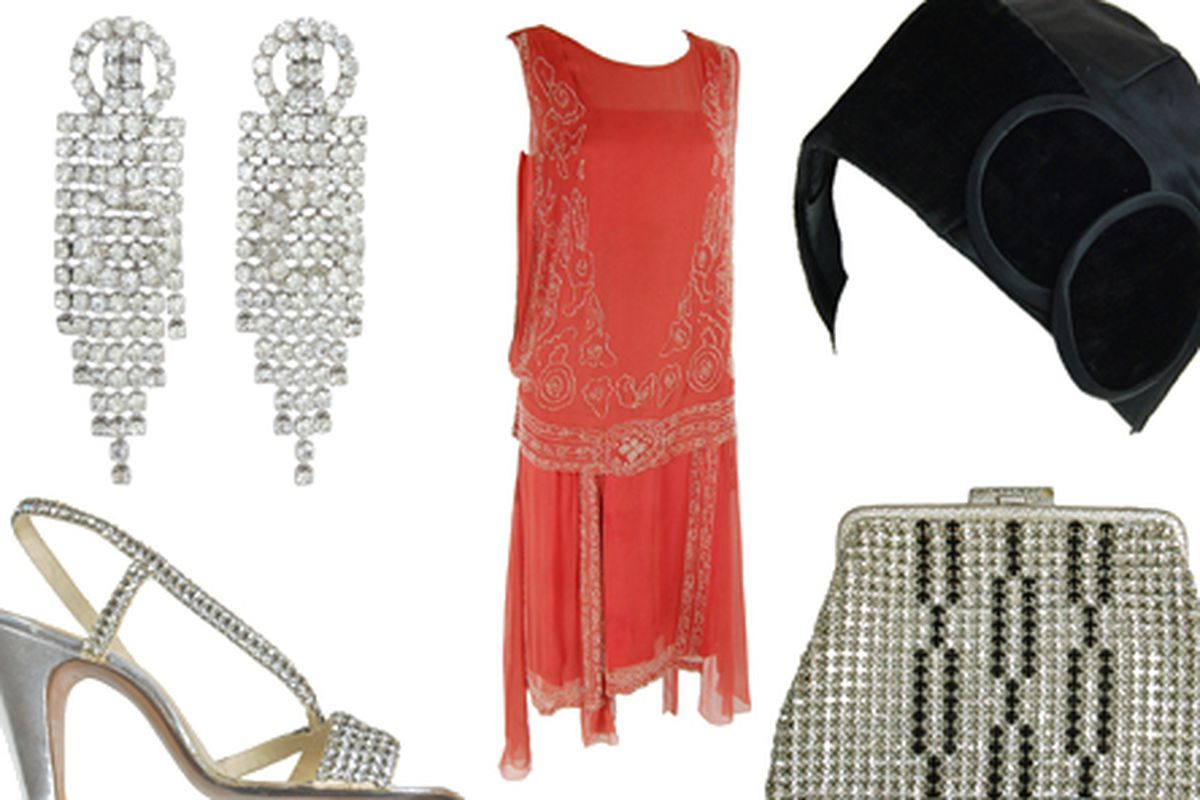 Pieces from the Party at Gatsby's collection, courtesy of Amarcord Vintage