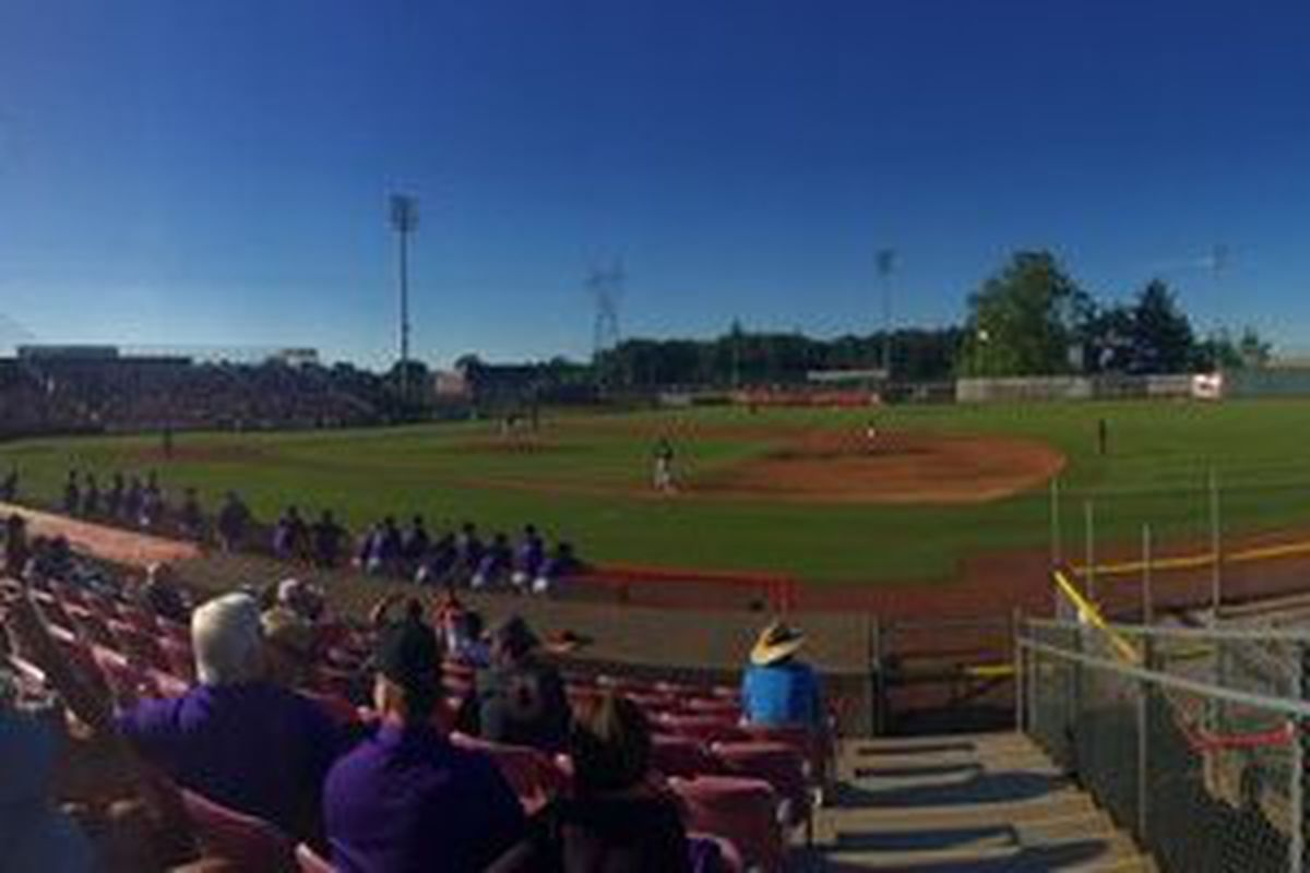 The weather was sunnier than the Beavers' performance today in Keizer.