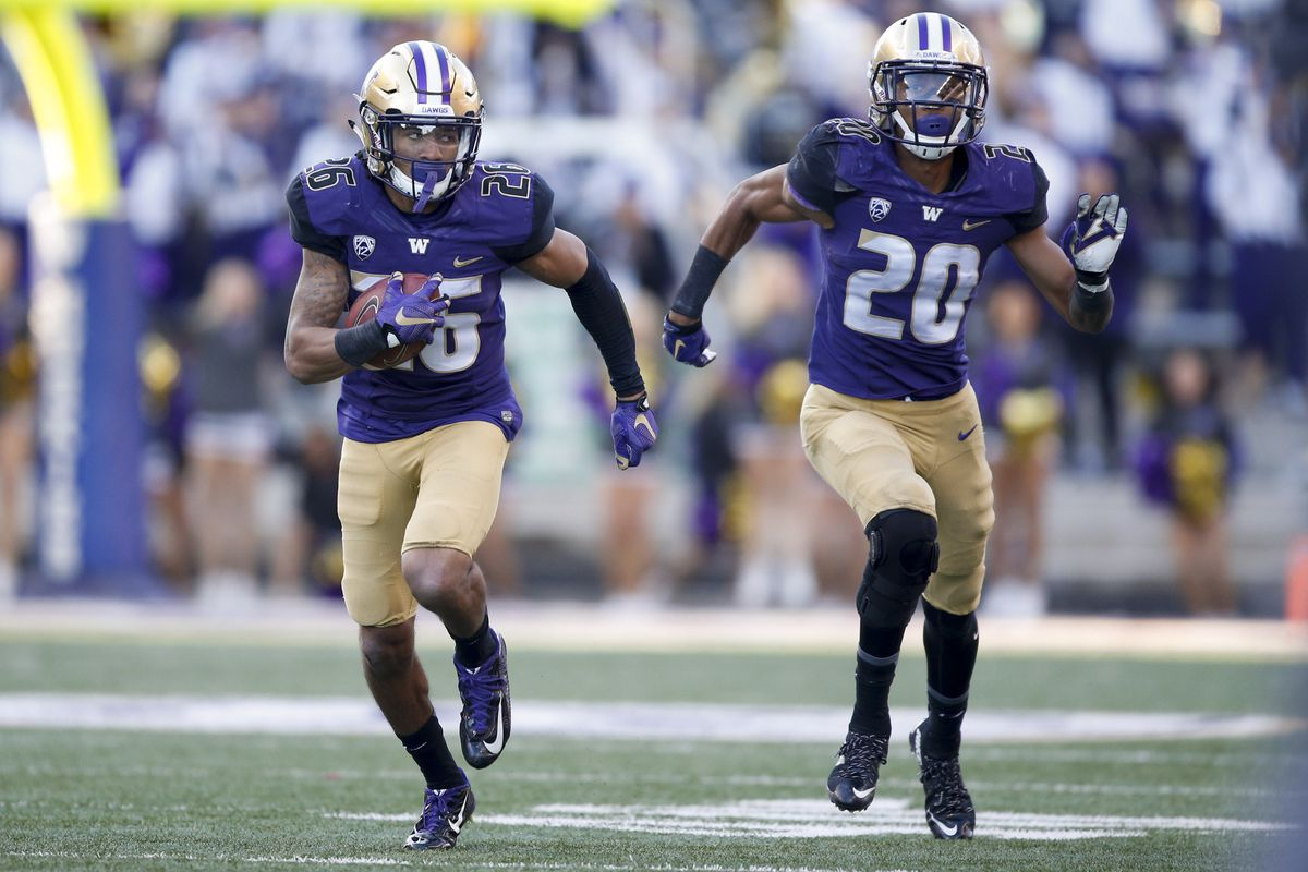Sidney Jones and Kevin King - two key cogs in the Husky pass defense