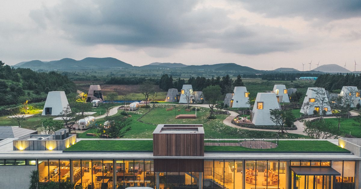 Glamping Site In South Korea Is A New Take On The Campground Curbed