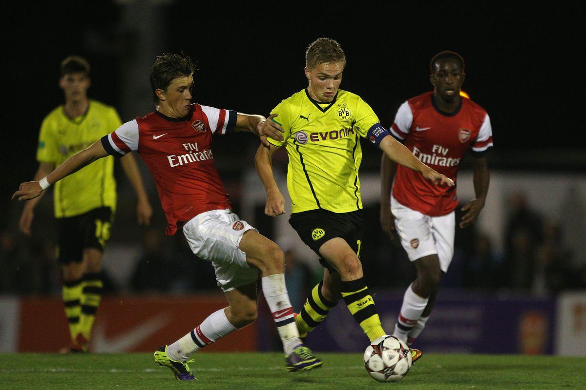 Arsenal U19 v Borussia Dortmund U19 - UEFA Youth League