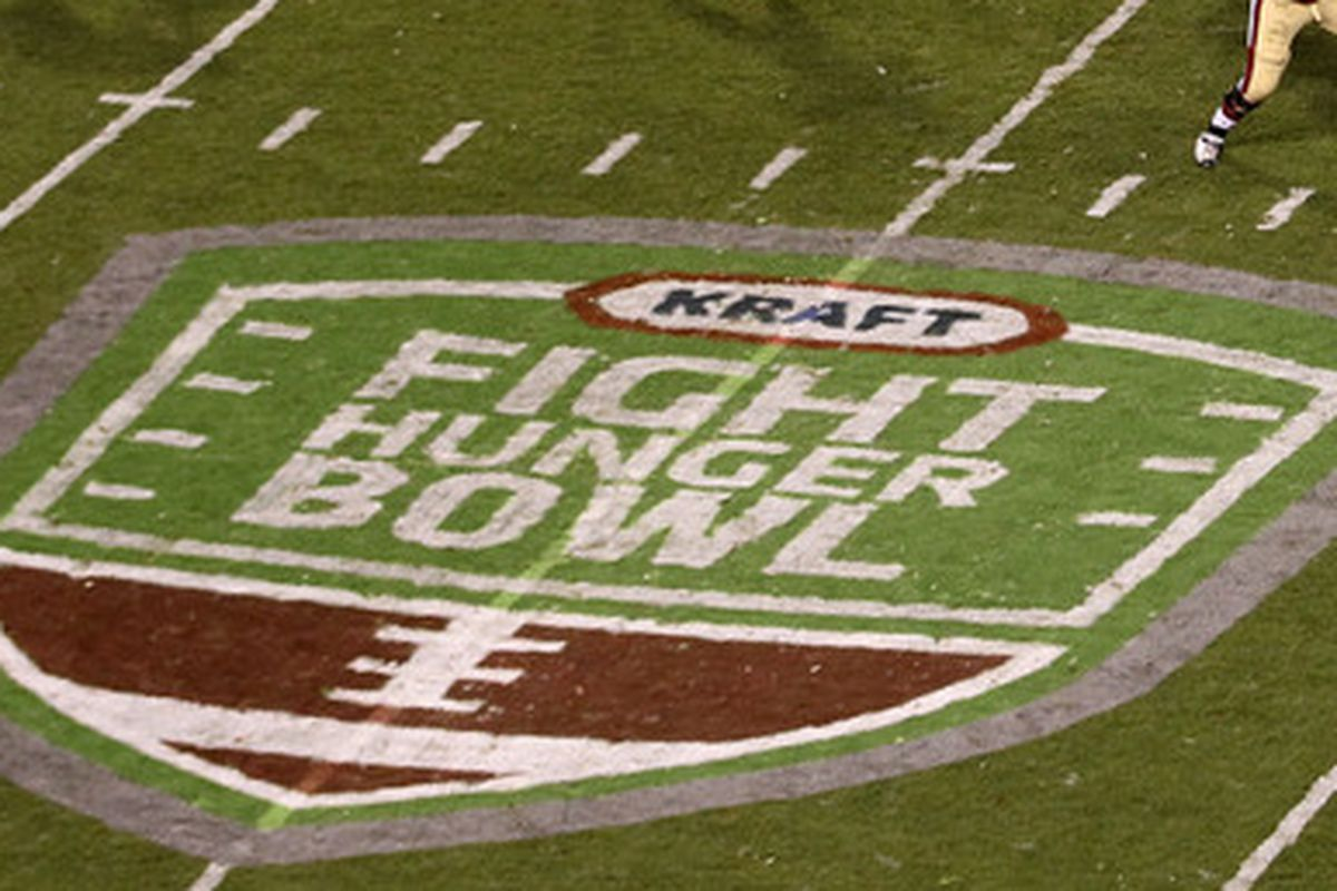 Kraft Fight Hunger Bowl here we come?