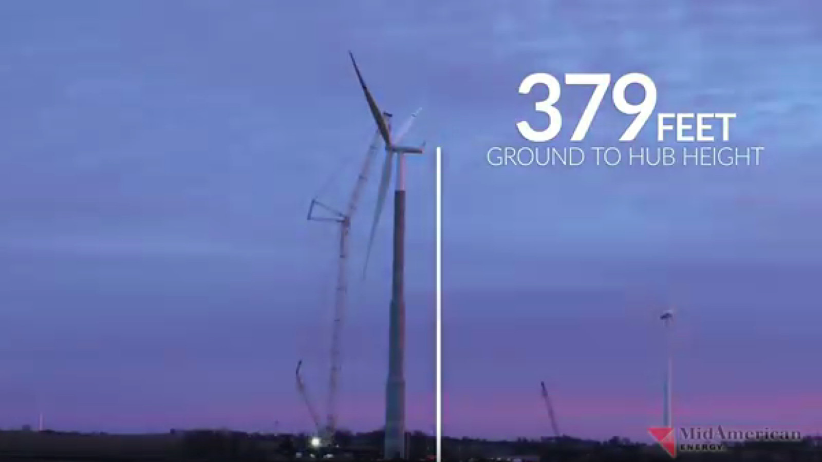 The tallest wind power tower in the US, assembled in one hypnotizing ...